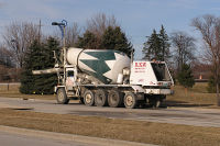 RKW cement truck 21