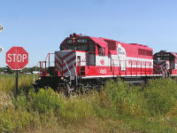 "WSOR EMD SD40-2 4053 ""Grow Wisconsin"""