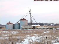 Williams grain bins, using John Deere for switcher