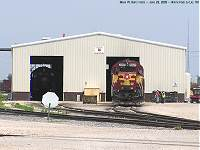 WC EMD GP40-2s 3026 and 3027