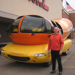 Fuzzy and the Wienermobile